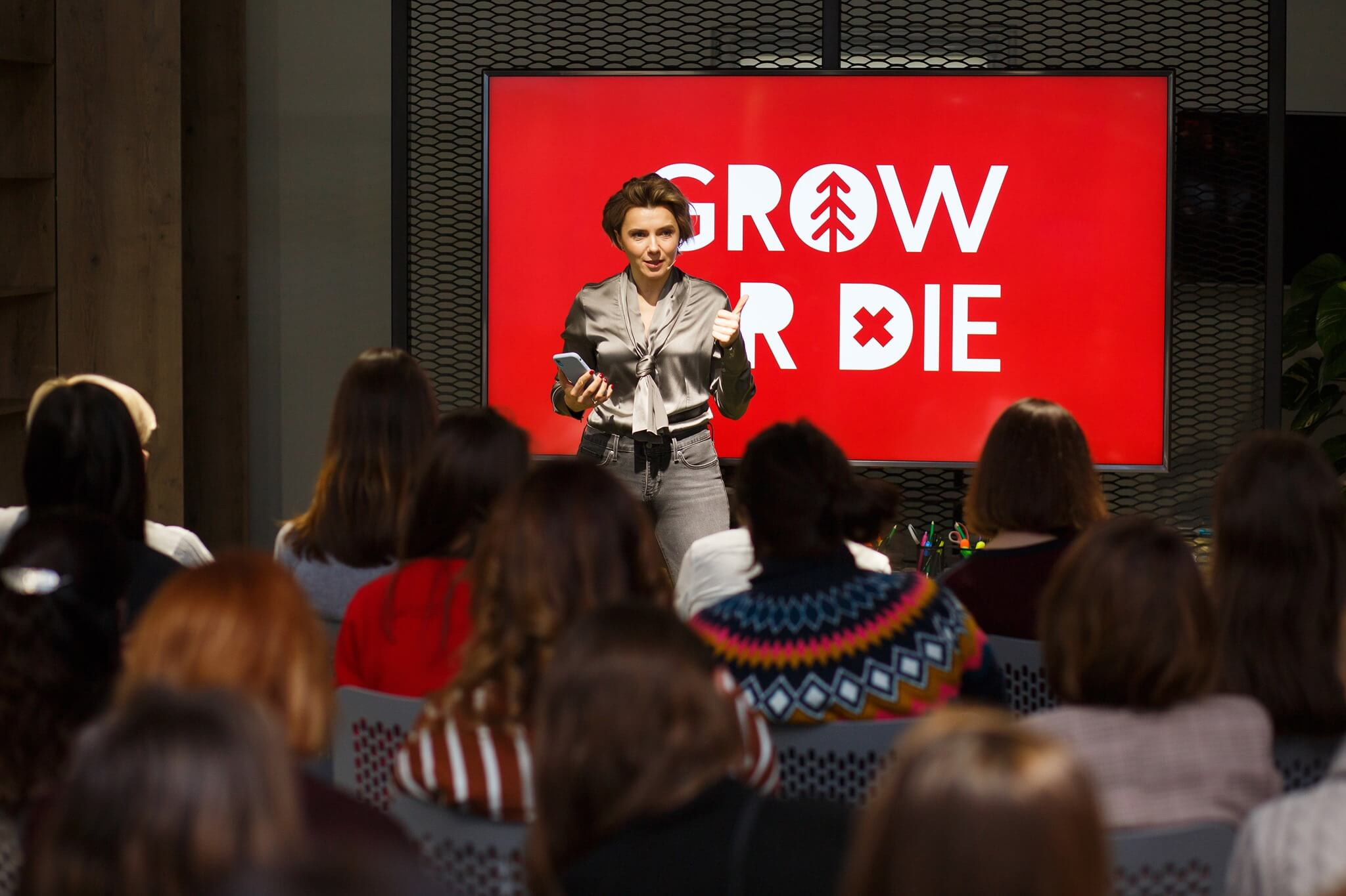 Grow or Die SHE. transforms event