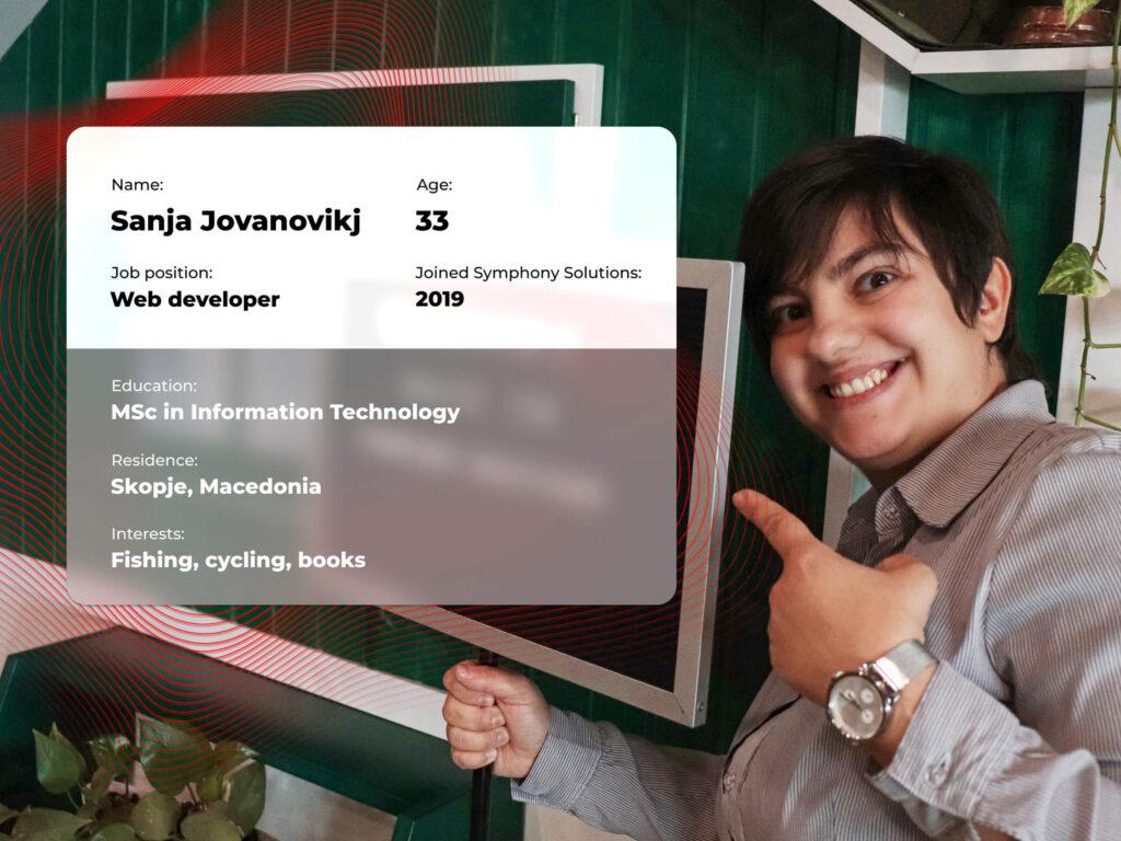 Sanja Jovanovikj profile